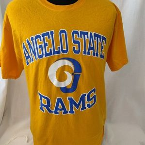 Champion Angelo Rams yellow large t-shirt